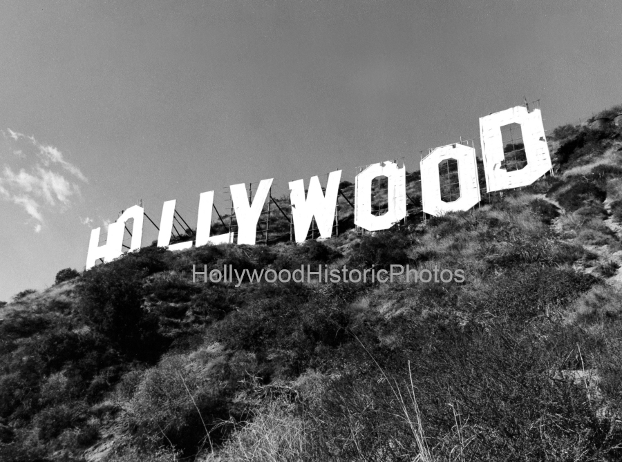 Hollywood Sign 1960 1